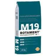 Botament M19 Gres ragasztó (C1 T) szürke 25kg