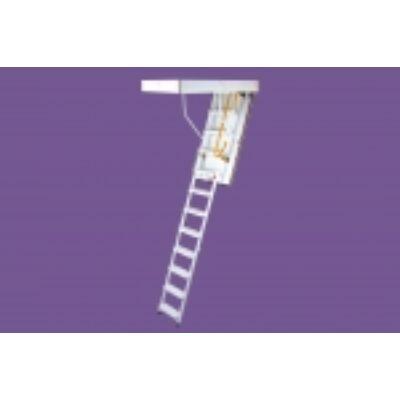 STEEL összecsukható padlásfeljáró, acél létraszárral - 120 x 70 cm