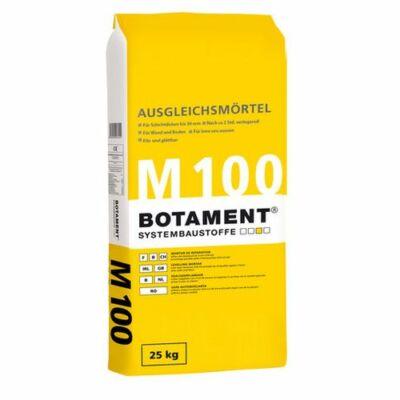 Botament M100 Könnyű adalékszeres kiegyenlítő habarcs falra/padlóra 3-50mm-ig 25kg